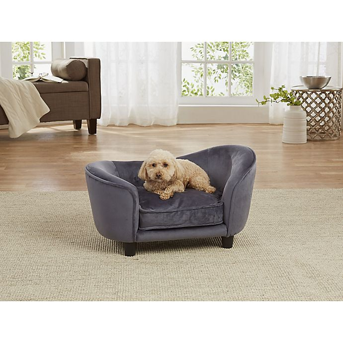 Alternate image 1 for Enchanted Home Pet Small Ultra Plush Snuggle Bed