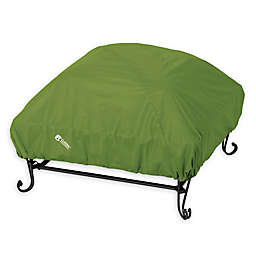 Classic Accessories® SODO™ Plus Outdoor Square Fire Pit Cover in Green