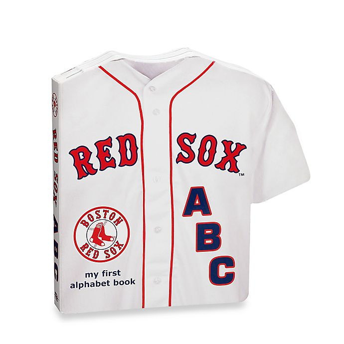 huge discount 8b0f3 c1859 MLB Boston Red Sox ABC: My First Alphabet Board Book | Bed ...
