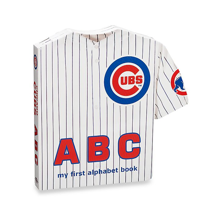 Alternate image 1 for MLB Chicago Cubs ABC: My First Alphabet Board Book