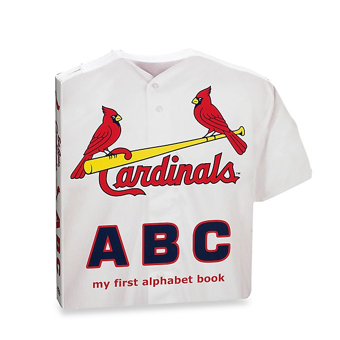 Alternate image 1 for MLB St. Louis Cardinals ABC: My First Alphabet Board Book