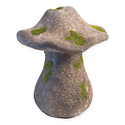 Boston International 12-Inch Moss Mushroom Statue