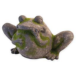 Boston International 14-Inch Moss Frog Statue