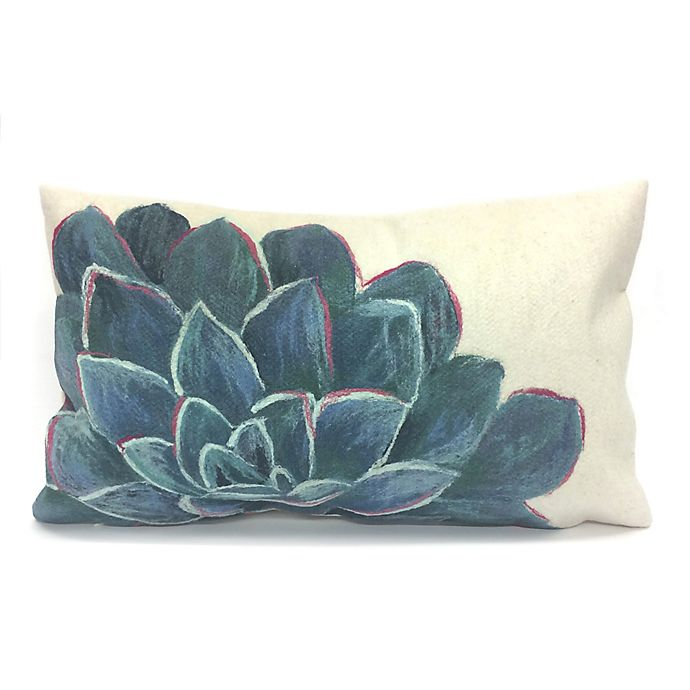 Liora Manne Visions Succulent Indoor Outdoor Throw Pillow Bed Bath Beyond