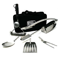 Grill Daddy® 7-in-1 BBQ Tool Set with Grill Brush