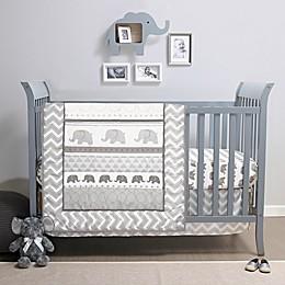Belle Elephant Walk Crib Bedding Collection