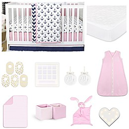 The PeanutShell™ Sail Away 18-Piece Nursery Essentials Set
