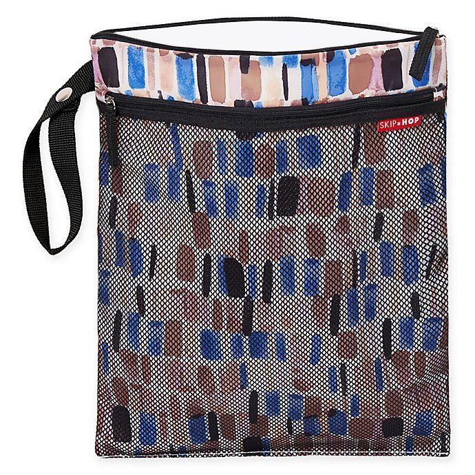 Alternate image 1 for SKIP*HOP® Grab & Go Brushstroke Wet/Dry Bag