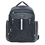 Eddie Bauer® Places & Spaces Sporty Backpack Diaper Bag in Black