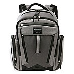 Eddie Bauer® Places & Spaces Traverse Backpack Diaper Bag in Grey/Dark Grey