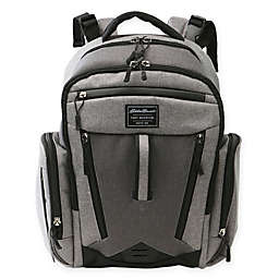 Eddie Bauer® Places & Spaces Traverse Backpack Diaper Bag in Grey/Dark Grey