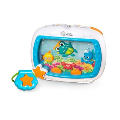 Baby Einstein Sea Dreams Soother Crib Toy Bed Bath