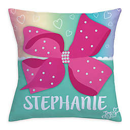 JoJo Siwa™ Bow Throw Pillow in Pink c0c92cadc