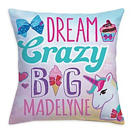"""JoJo Siwa™ """"Dream Crazy Big"""" Throw Pillow"""