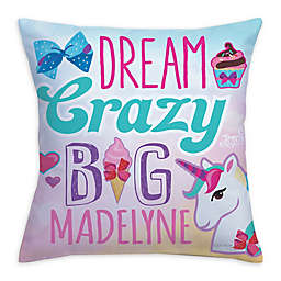 "JoJo Siwa™ ""Dream Crazy Big"" Throw Pillow"