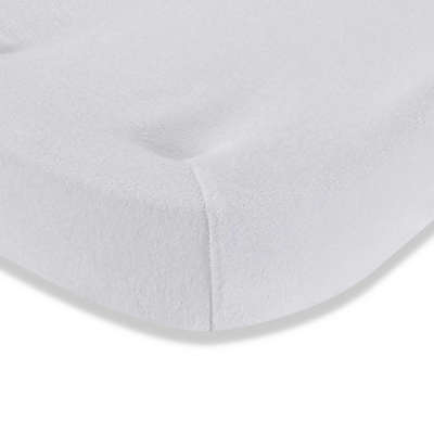 LA Baby® Terry Cocoon Changing Pad Cover in White