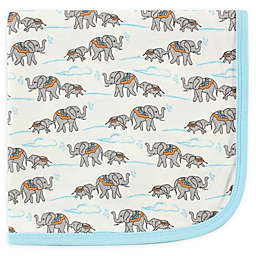 Touched by Nature Elephant Organic Cotton Knit Blanket in Beige