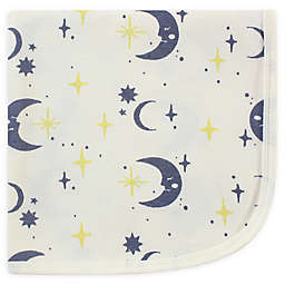 Touched by Nature Moon Organic Cotton Knit Blanket in Yellow