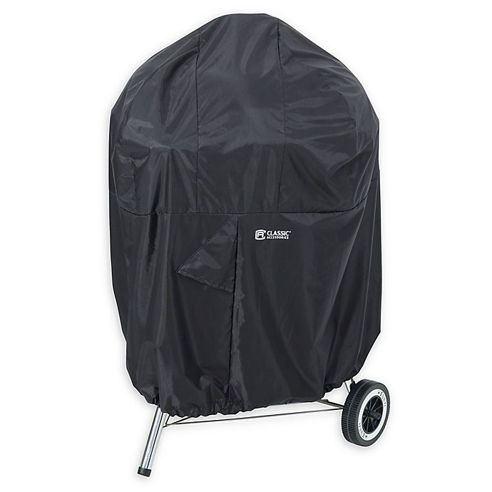 Alternate image 1 for Classic Accessories® SODO™ Plus Kettle Grill Cover in Black