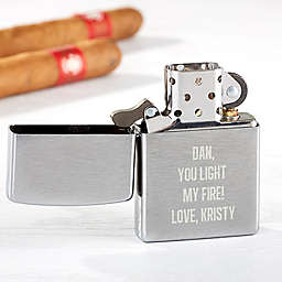 Write Your Own Zippo® Windpoof Lighter