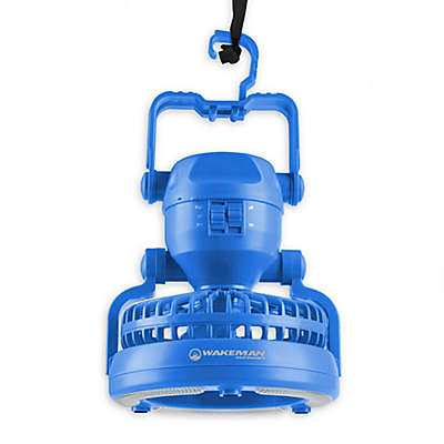Wakeman 2-in-1 LED Camping Lantern with Fan