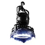 Wakeman 2-in-1 LED Camping Lantern with Fan in Black