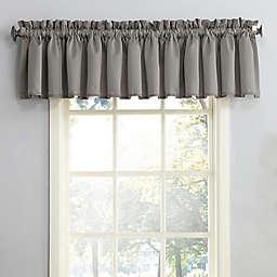 Sun Zero Bella Rod Pocket Room Darkening Window Valance