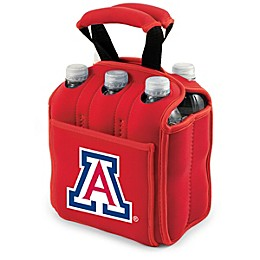 NCAA Activo Collegiate Six Pack Tote in University of Arizona in Red