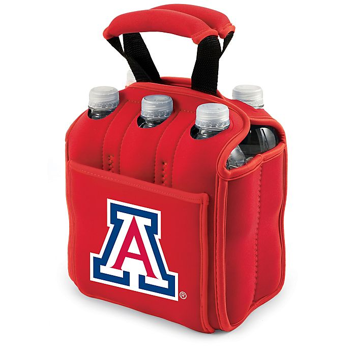Alternate image 1 for Picnic Time® Activo Collegiate Six Pack Tote in University of Arizona in Red