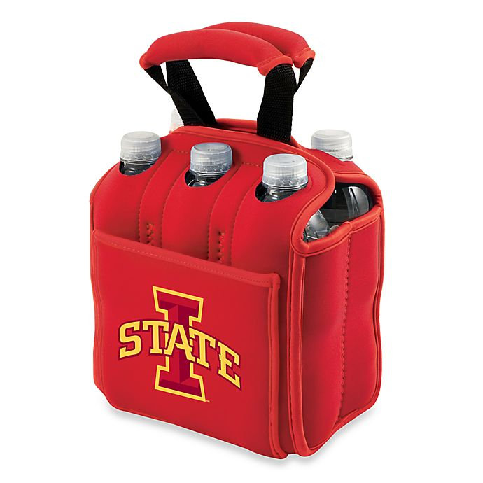 Alternate image 1 for Iowa State University Picnic Time® Activo Collegiate Six Pack Tote
