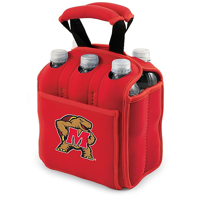 Alternate image 1 for Picnic Time® Activo Collegiate Six Pack Tote in University of Maryland
