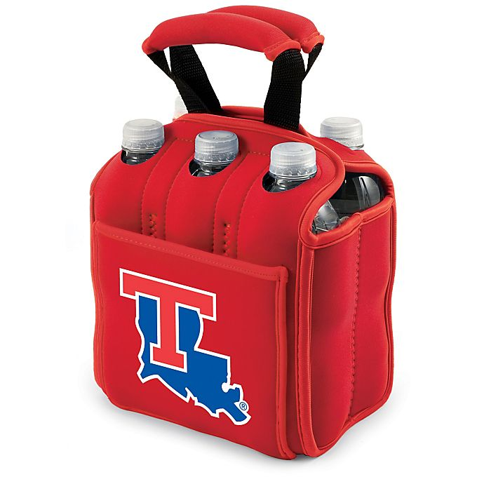 Alternate image 1 for Picnic Time® Activo Collegiate Six Pack Tote in Louisiana Tech