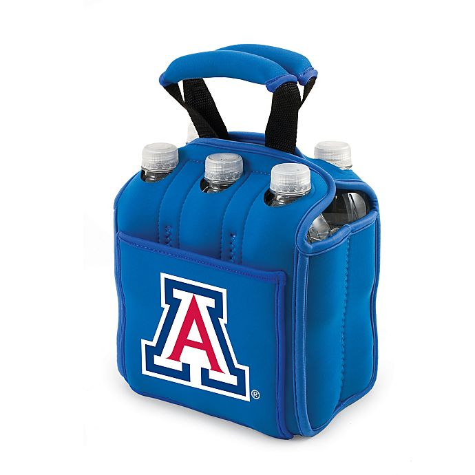 Alternate image 1 for Picnic Time® Activo Collegiate Six Pack Tote in University of Arizona in Blue