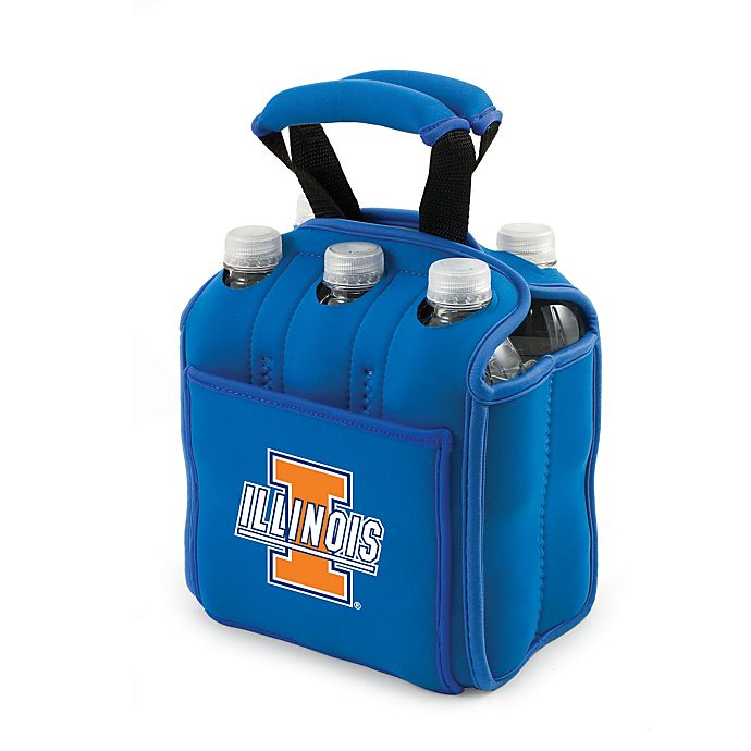 Alternate image 1 for Picnic Time® Activo Collegiate Six Pack Tote in University of Illinois