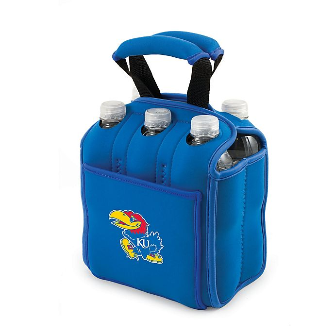 Alternate image 1 for Picnic Time® University of Kansas Activo Collegiate Six Pack Tote in Blue