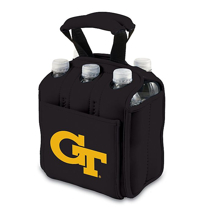 Alternate image 1 for Picnic Time® Activo Collegiate Six Pack Tote in Georgia Tech
