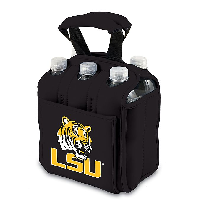 Alternate image 1 for Louisiana State University Picnic Time® Activo Collegiate Six Pack Tote
