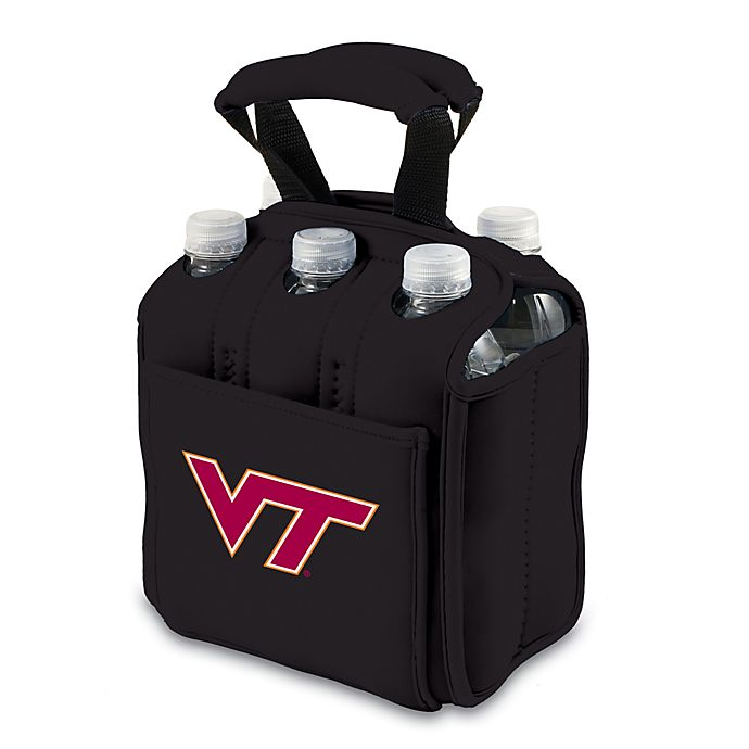 Alternate image 1 for Picnic Time® Activo Collegiate Six Pack Tote in Virginia Tech