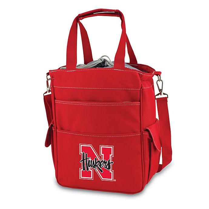 Alternate image 1 for Picnic Time® University of Nebraska Collegiate Activo Tote in Red