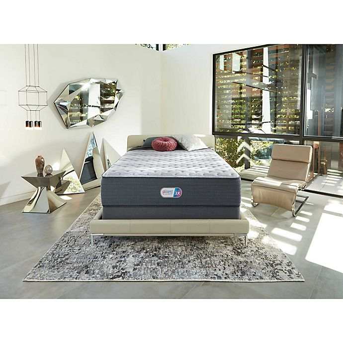 Alternate image 1 for Beautyrest® Platinum™ Jaycrest Plush Memory Foam Queen Mattress Set