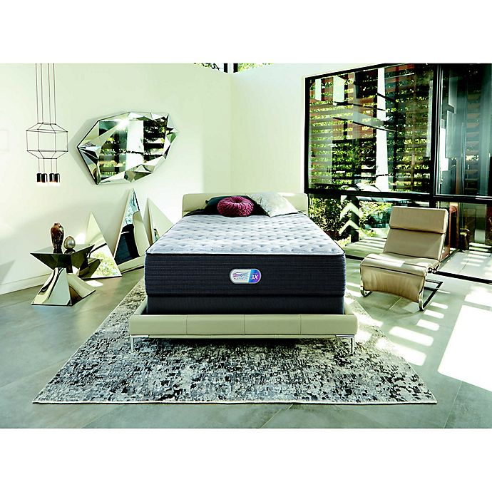 Alternate image 1 for Beautyrest® Platinum™ Spring Grove™ Plush Low Profile Twin XL Mattress Set