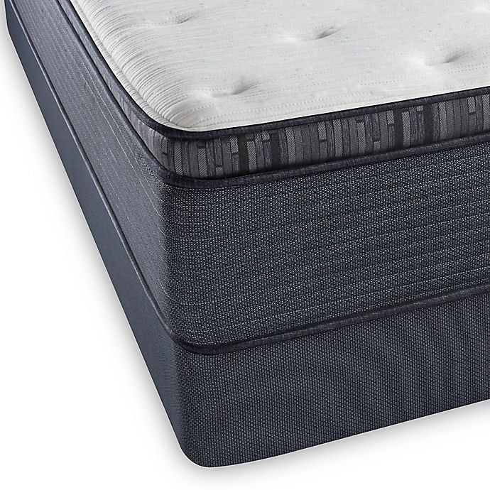 Alternate image 1 for Beautyrest® Platinum™ Spring Grove Luxury Firm Pillow Top Twin Mattress Set
