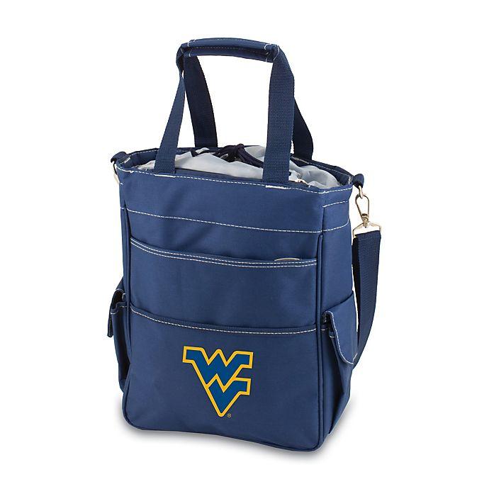 Alternate image 1 for Picnic Time® Collegiate Activo Tote - West Virginia University (Blue)