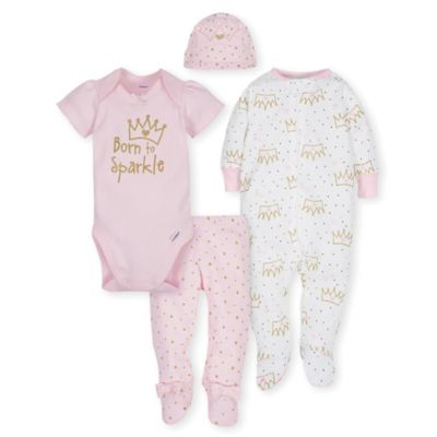 5f6a50979 Gerber® 4-Piece Princess Take Me Home Set in Pink Is Not Available For Sale  Online.