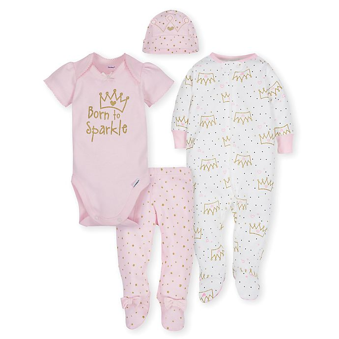 fefb2c170 Gerber® 4-Piece Princess Take Me Home Set in Pink
