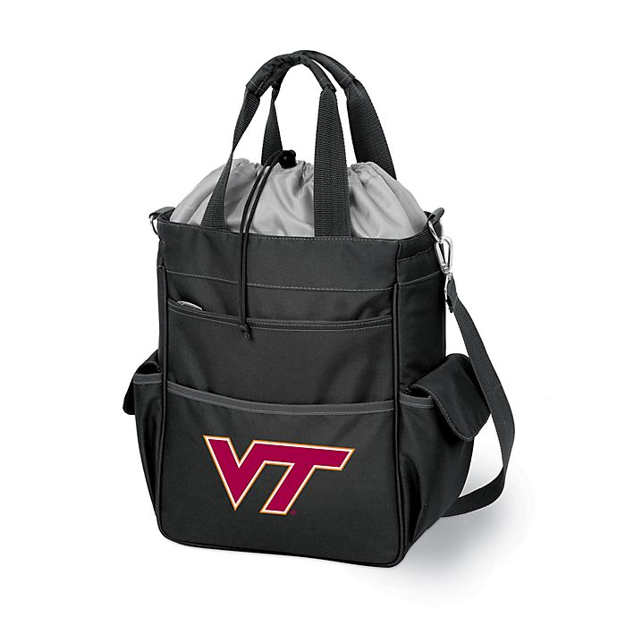 Alternate image 1 for Picnic Time® Virginia Tech Collegiate Activo Tote in Black
