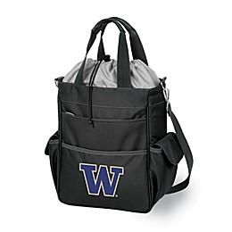 NCAA University of Washington Collegiate Activo Tote in Black