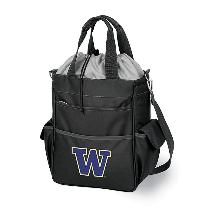 Alternate image 1 for Picnic Time® University of Washington Collegiate Activo Tote in Black