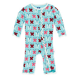 KicKee Pants® Butterfly Coverall in Blue