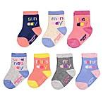 OshKosh B'gosh® Size 12-24M 7-Pack Days of the Week Socks
